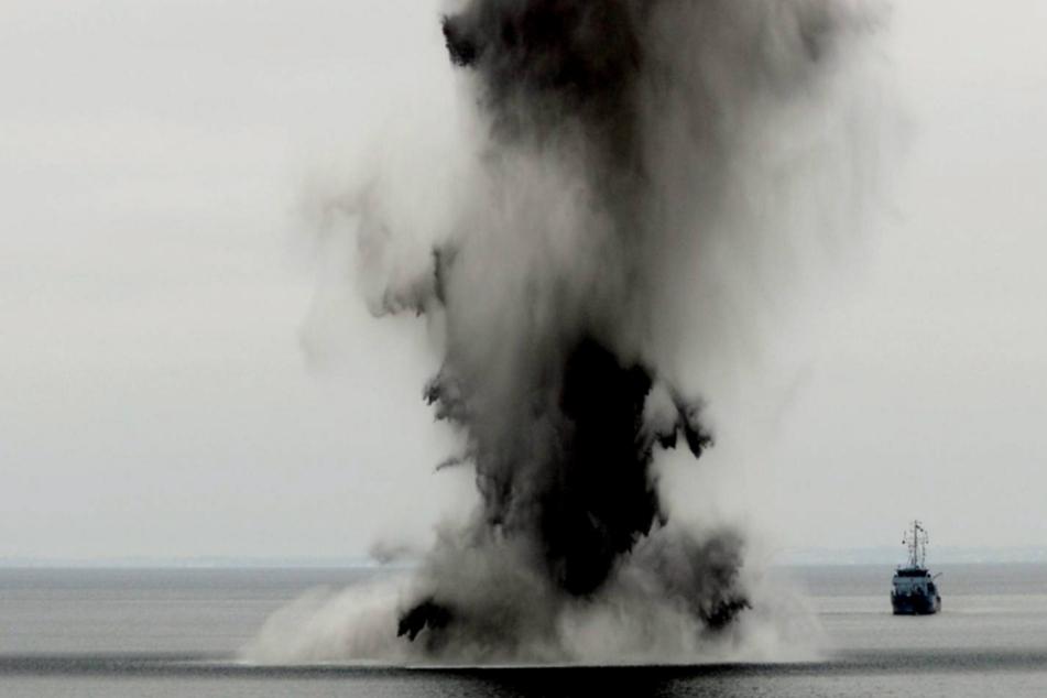 Tickende Zeitbomben in Nord- und Ostsee: Bergungskosten explodieren