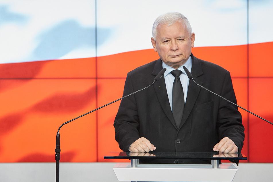Er ist der heimliche Machthaber in Polen: Jaroslaw Kaczynski (71), Vorsitzender der nationalkonservativen Regierungspartei PiS.