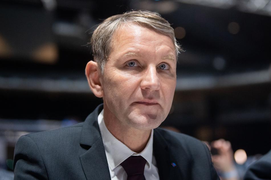 Björn Höcke ist amtierender Fraktionsvorsitzender der AfD in Thüringen. (Foto: Julian Stratenschulte/dpa)