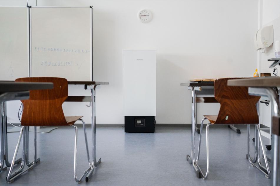 Der Einsatz mobiler Luftfilter in Schulen wird nach Ansicht des Verbands Bildung und Erziehung zu halbherzig betrieben.