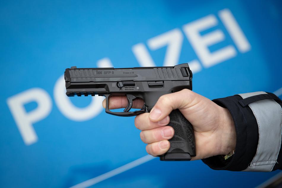 Die Polizei war wegen des Verdachts auf eine Schießerei angerückt. (Symbolbild)