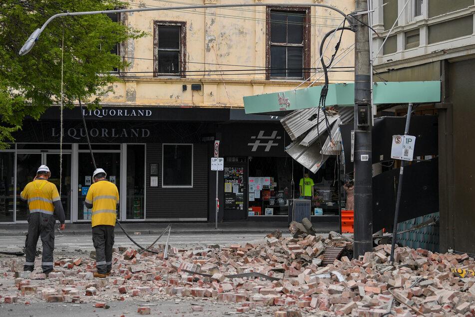 Das Beben der Stärke 6,0 hat sich in Mansfield etwa 200 Kilometer nordöstlich der Millionenstadt Melbourne ereignet.