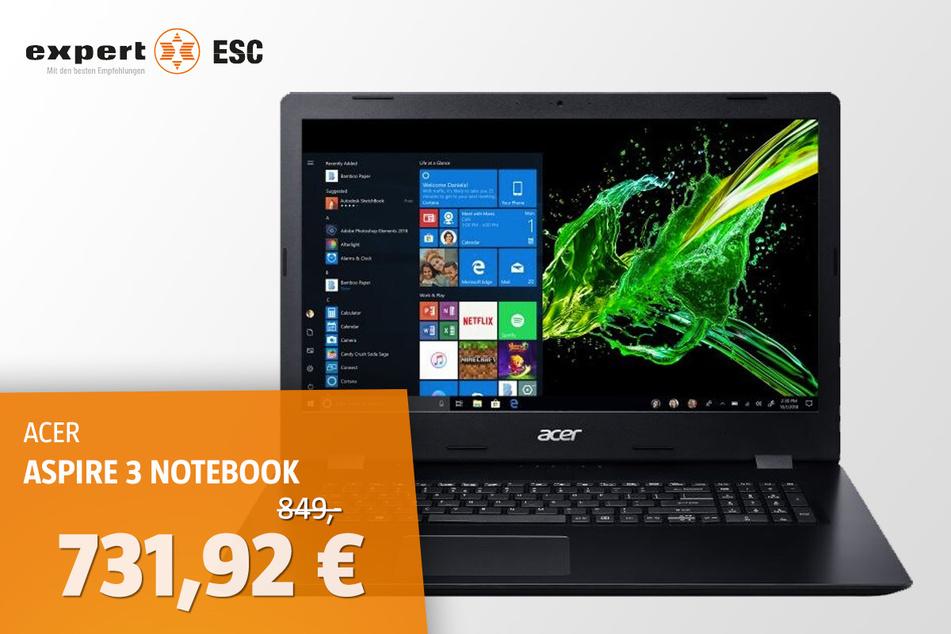 Acer Aspire 3 A317-51G-51BL i5-10210 für 731,92 statt 849 Euro