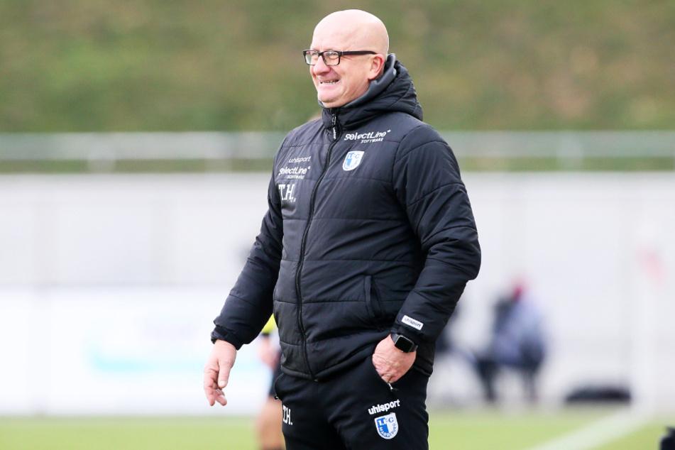 FCM-Coach Thomas Hoßmang (54) fehlt momentan ein Torjäger!