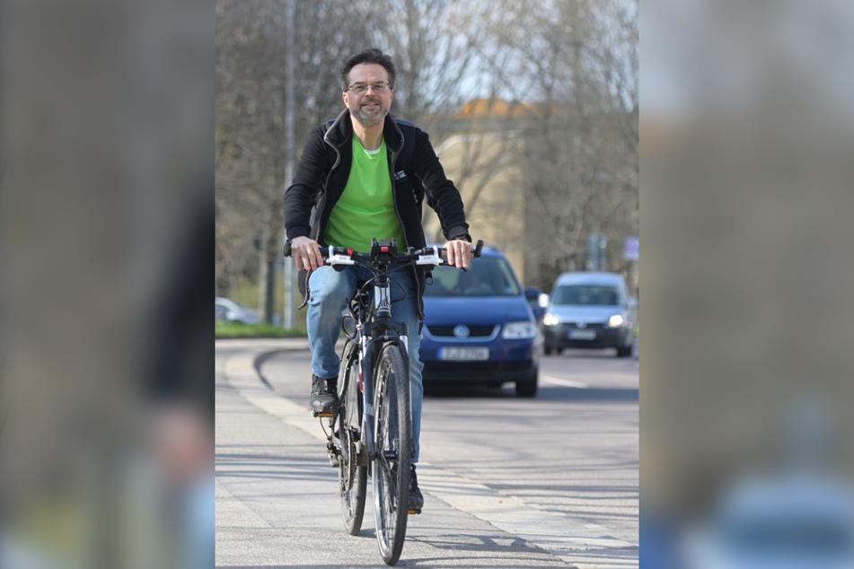 Der 50-jährige Digitalisierungsspezialist ist vielen als Fahrrad-Aktivist vom ADFC bekannt.
