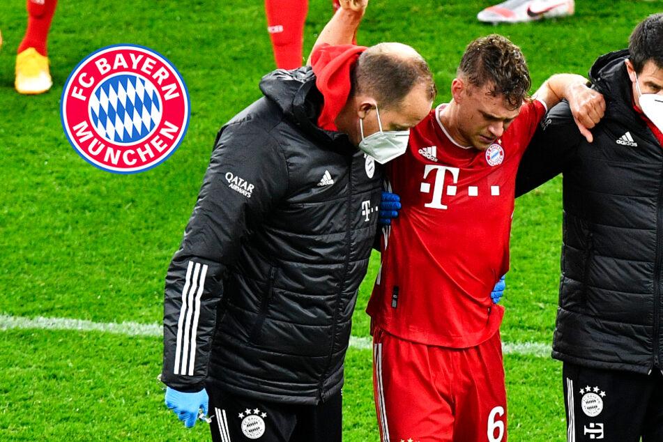 """Joshua Kimmich verletzt sich am Knie! Die Bayern bangen um ihren """"Schlüsselspieler"""""""