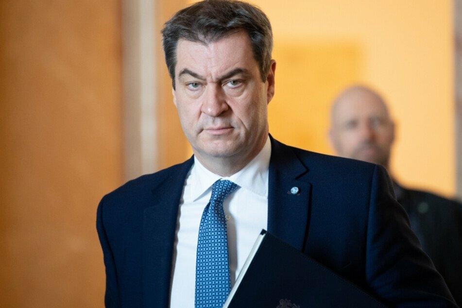 """Markus Söder (53, CSU), Ministerpräsident von Bayern: """"Es geht um Leben und Tod."""""""