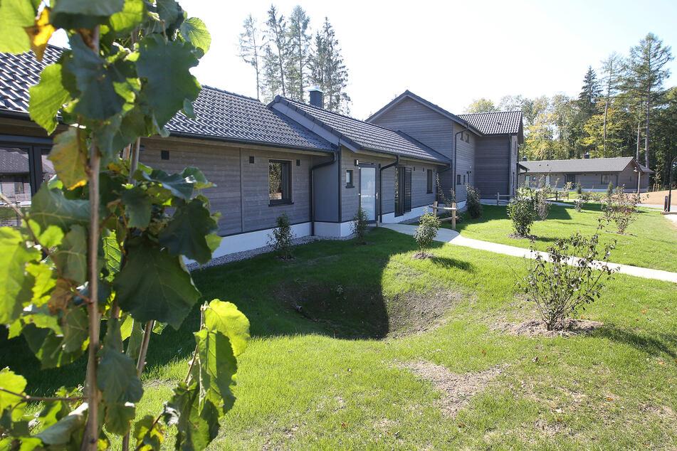 Ferienhäuser in der Anlage Center Parcs Leutkirch.