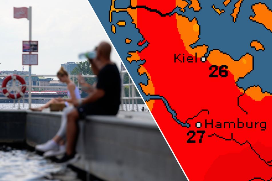Fast 30 Grad! Sommer meldet sich zurück in Hamburg, doch nur kurz
