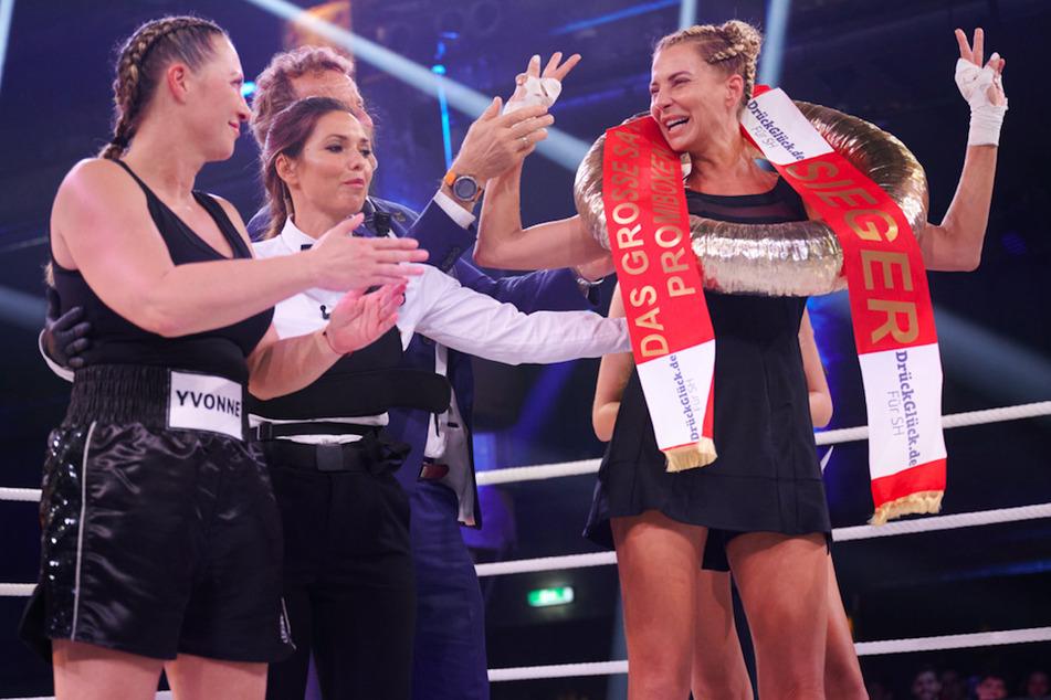 Promi-K.o. in Runde 1! Giulia Siegel mit hartem Hieb gegen Yvonne König