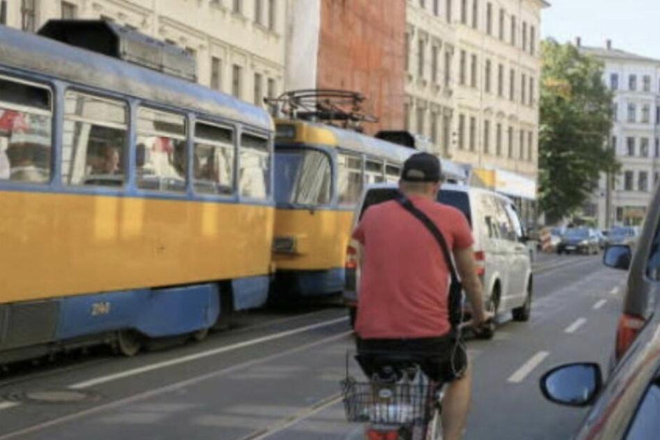 Leipzig: Für die Sicherheit der Radler: Tempolimit in Leipziger Jahnallee soll ausgeweitet werden