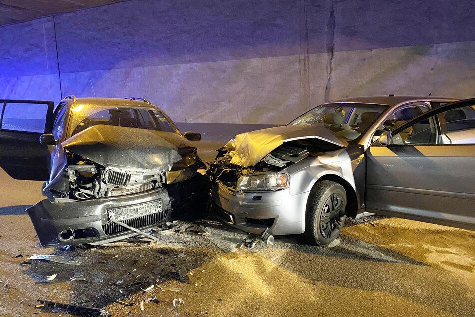 Zu dem Unfall war es gekommen, weil die 27-jährige Skoda-Fahrerin in den Gegenverkehr geraten war.