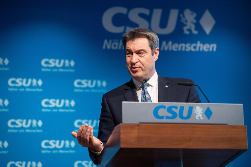 Markus Söder (54, CSU), Parteivorsitzender und Ministerpräsident von Bayern, fordert eine Aufhebung der Impfreihenfolge im Mai.