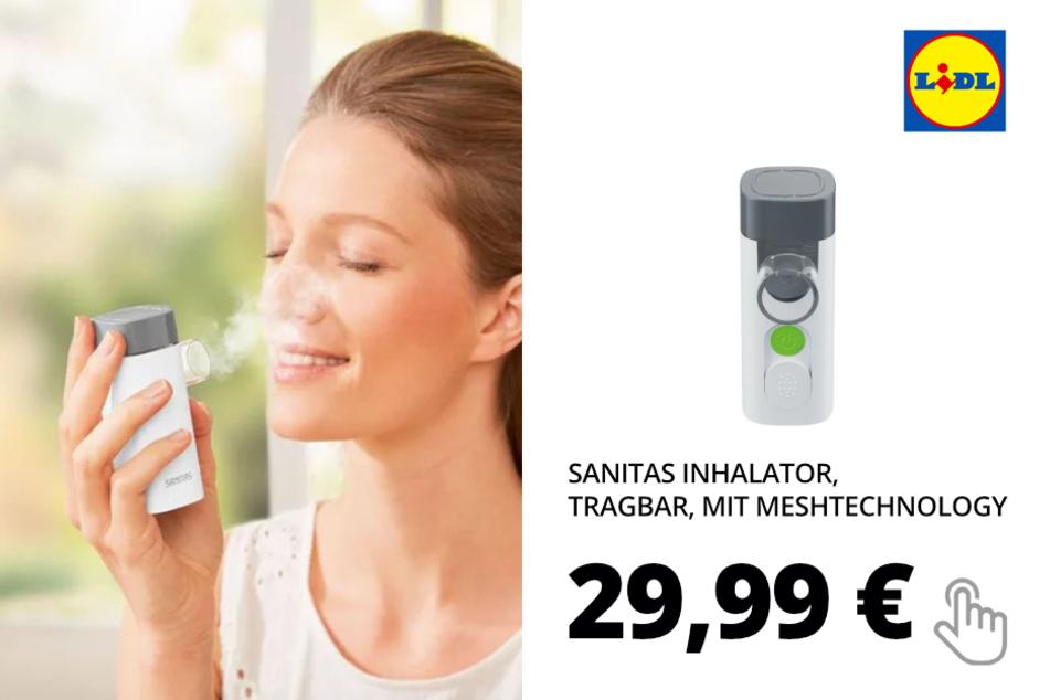Inhalator, tragbar
