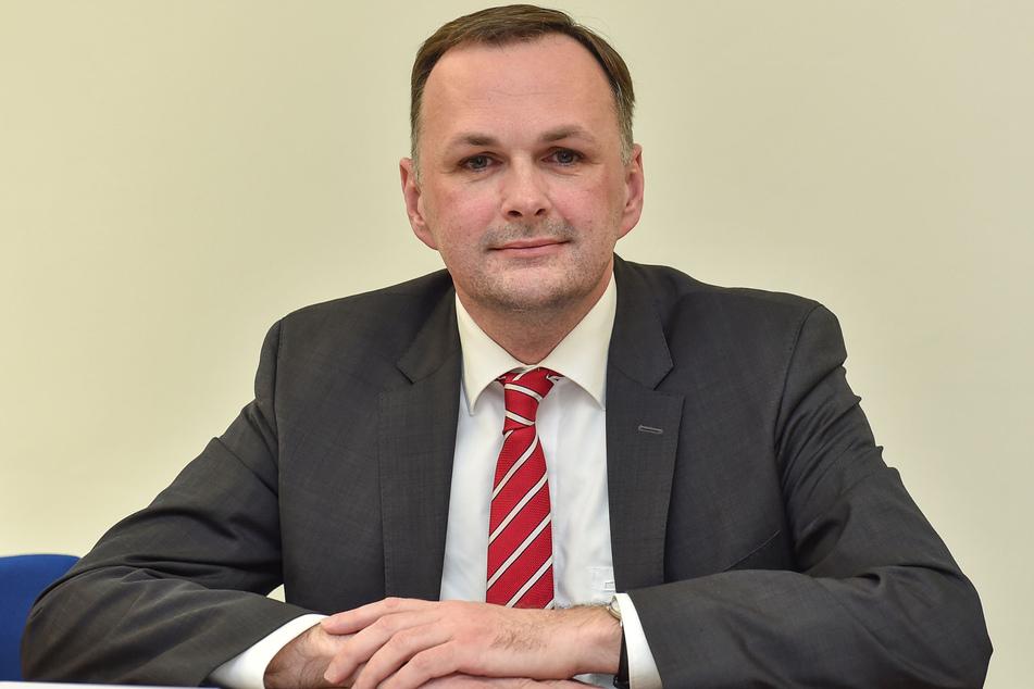 Linke: Fraktionschef André Schollbach (42).