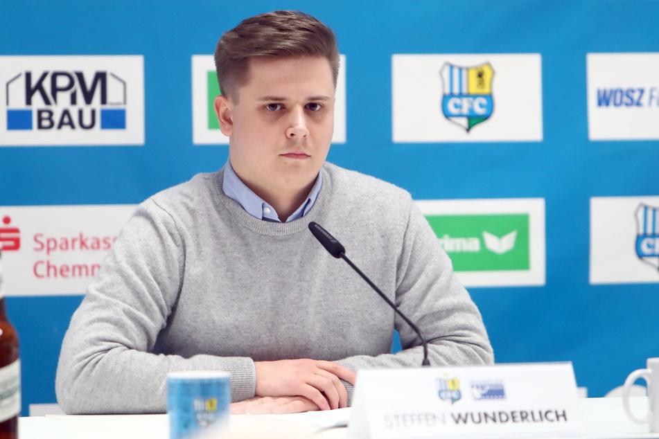 Pressesprecher Steffen Wunderlich.
