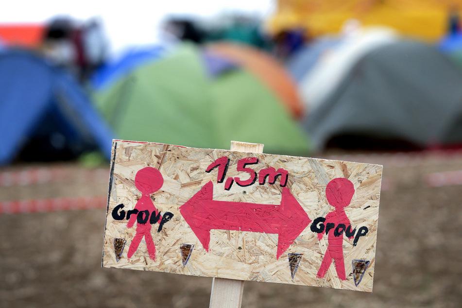 Klimacamp Aachen darf nach Kontrolle bleiben