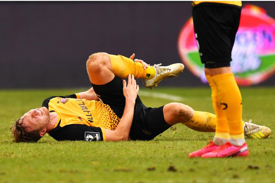Marco Hartmann (33) will sich nicht verletzt von Dynamo Dresden verabschieden.