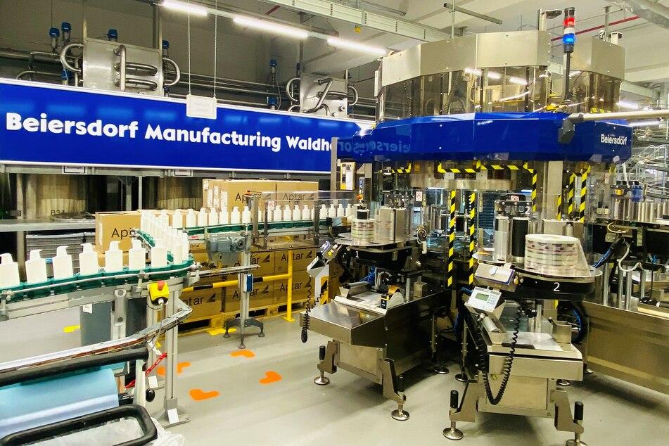 Das alte Beiersdorf-Werk in Waldheim macht dicht, dafür gibt es ein Werk in Leipzig und dazu ein neues Verteilzentrum.
