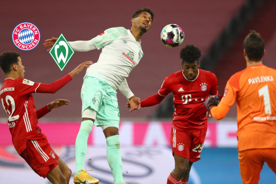 Riesen-Überraschung! FC Bayern kommt gegen freche Bremer nicht über Remis hinaus