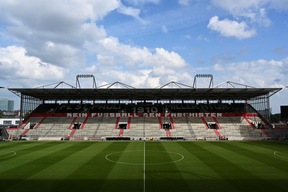 Das Millerntor-Stadion in Hamburg, Heimat des FC St. Pauli.