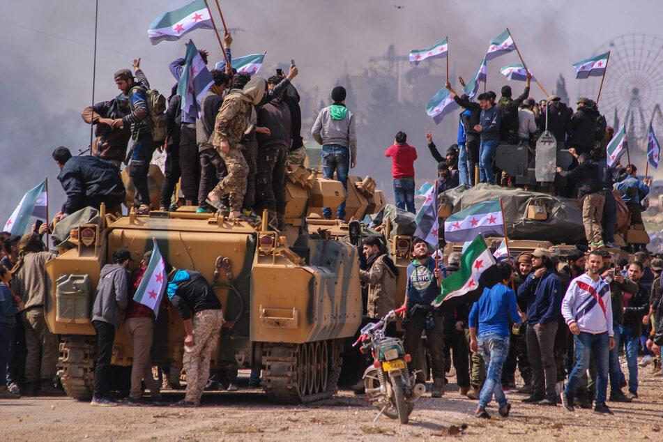 Der Syrien-Konflikt dauert bereits seit 2011 an. (Foto: Moawia Atrash/ZUMA Wire/dpa)