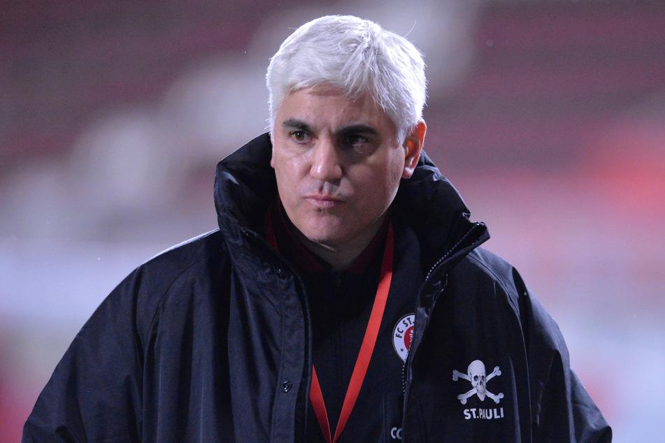 Andreas Bornemann, Sportchef des FC St. Pauli, erkennt kein Torwartproblem bei den Kiezkickern. (Archivfoto)