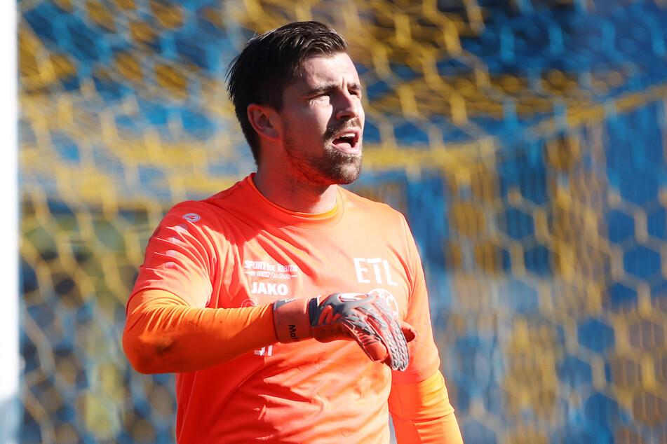 Benjamin Kirsten (33) ist seit 2016 Torwart bei Lok Leipzig.