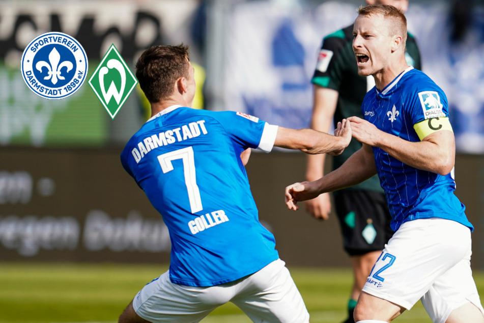 Anfang am Ende! Lilien schießen Ex-Coach und Werder Bremen in die Krise