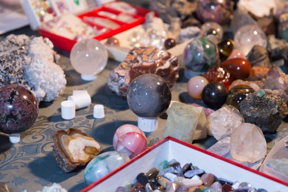 Hier kommen Fans von Mineralien auf ihre Kosten (Symbolbild).