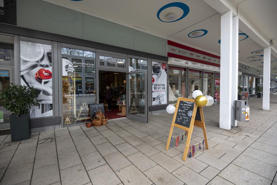 """Bis zum 22. Dezember hat """"Die Manufaktur: PopUp Store"""" im Rosenhof geöffnet."""