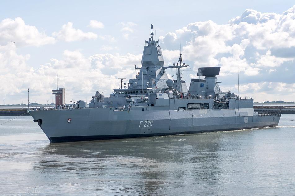 """Hamburg: Kriegsschiff """"Hamburg"""" kehrt nach Auslands-Einsatz zurück"""