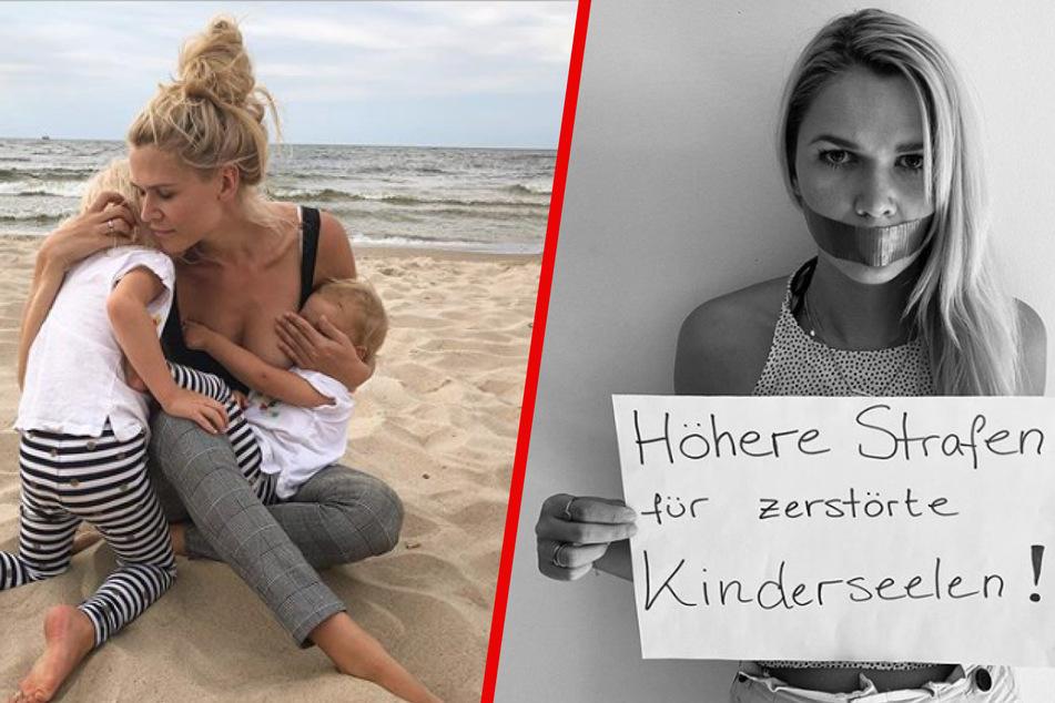 """""""Schau nicht weg!"""": Sara Kulka fordert härtere Strafen für Kindesmissbrauch"""