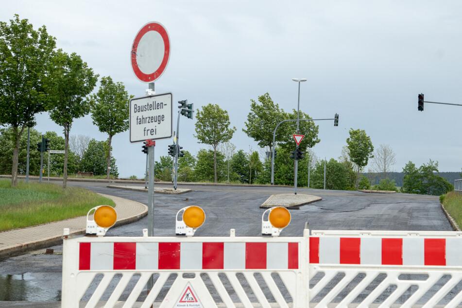 Kilometerlange Umleitung: B95 an drei Stellen voll gesperrt