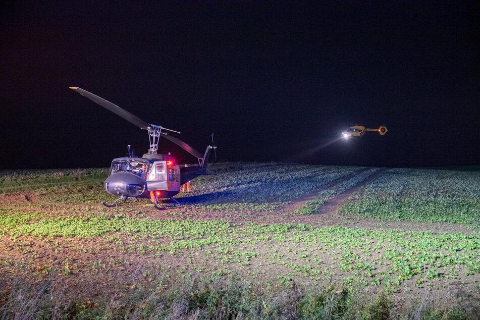 Zwei Schwerstverletzte wurden mit Rettungshubschraubern in Kliniken geflogen.