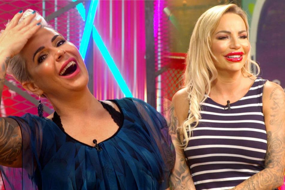 """Mona Buruncuk und Gina-Lisa Lohfink (33) haben als beste Freundinnen an der Show """"Just Tattoo Of Us"""" teilgenommen. (Fotomontage)"""