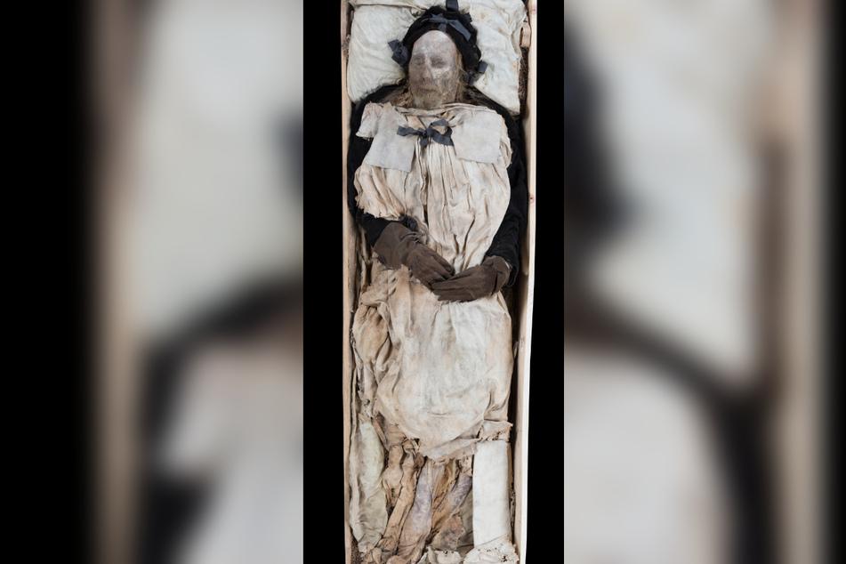 Peder Windstrups Überreste sind noch gut erhalten.