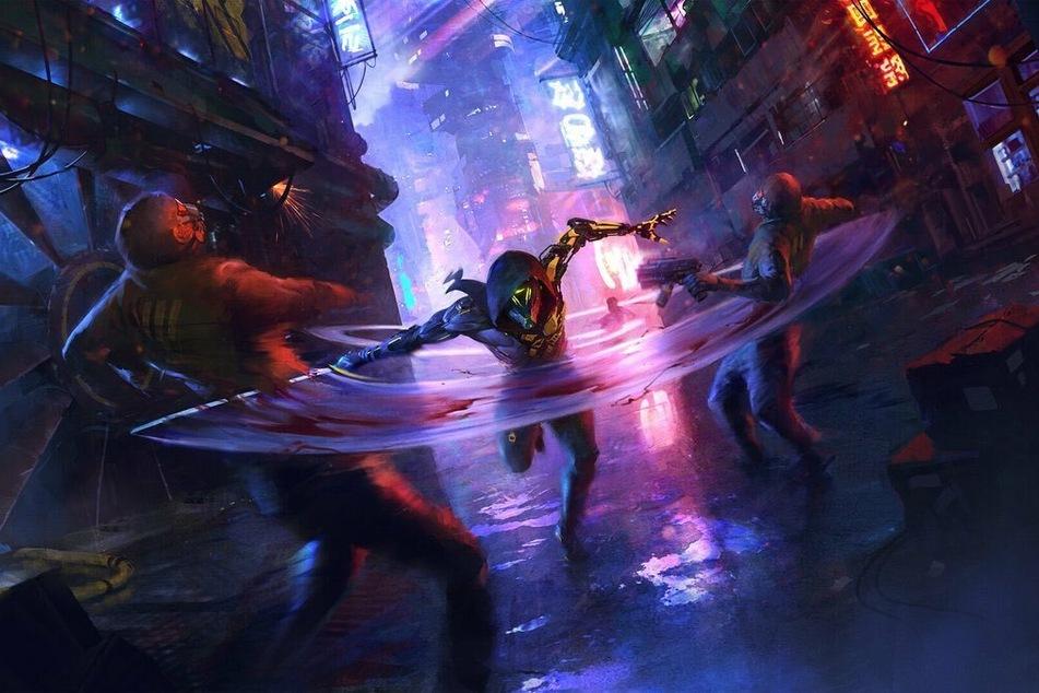 """In """"Ghostrunner"""" bewegt Ihr Euch in bester """"Mirror's Edge""""-Manier durch eine dystopische Zukunftsstadt."""