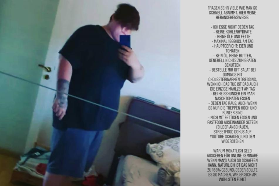 Exsl95 verrät seine Diät: So hat er rund 25 Kilo verloren