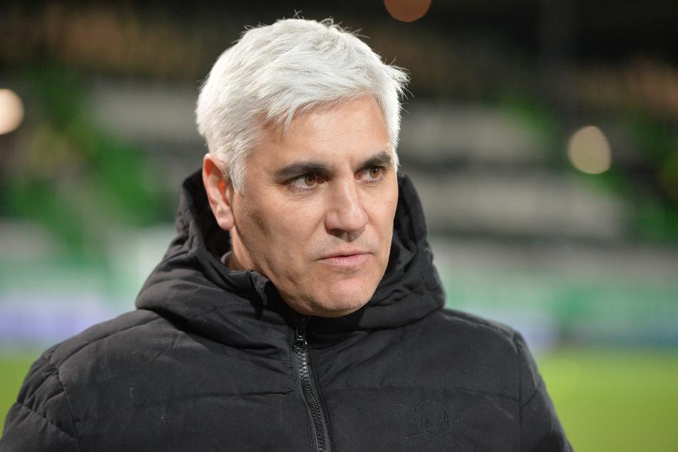 FC St. Pauli-Sportchef Andreas Bornemann (49) sieht sich aktuell heftiger Fan-Kritik in den sozialen Netzwerken ausgesetzt. (Archivfoto)