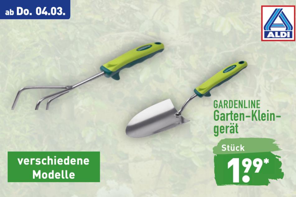 Gartenkleingeräte von Gardenline ab Donnerstag für 1,99 Euro bei ALDI in Genthin