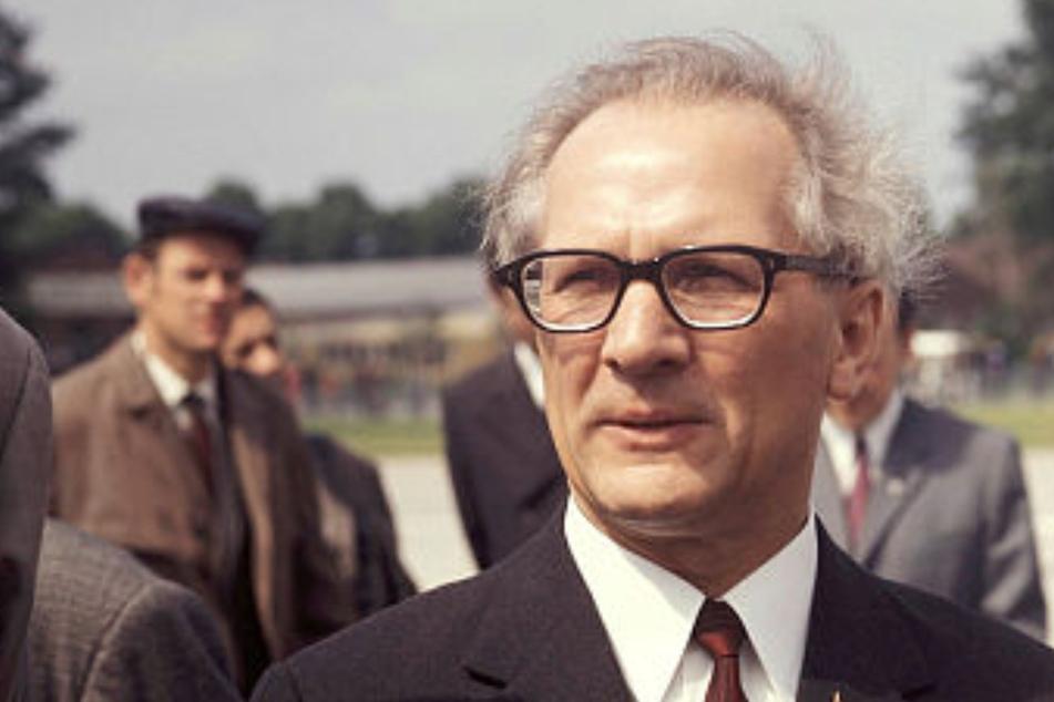 Der Saarländer Erich Honecker - hier 1972 - rückte die DDR wieder fest an die Seite der Sowjetunion.
