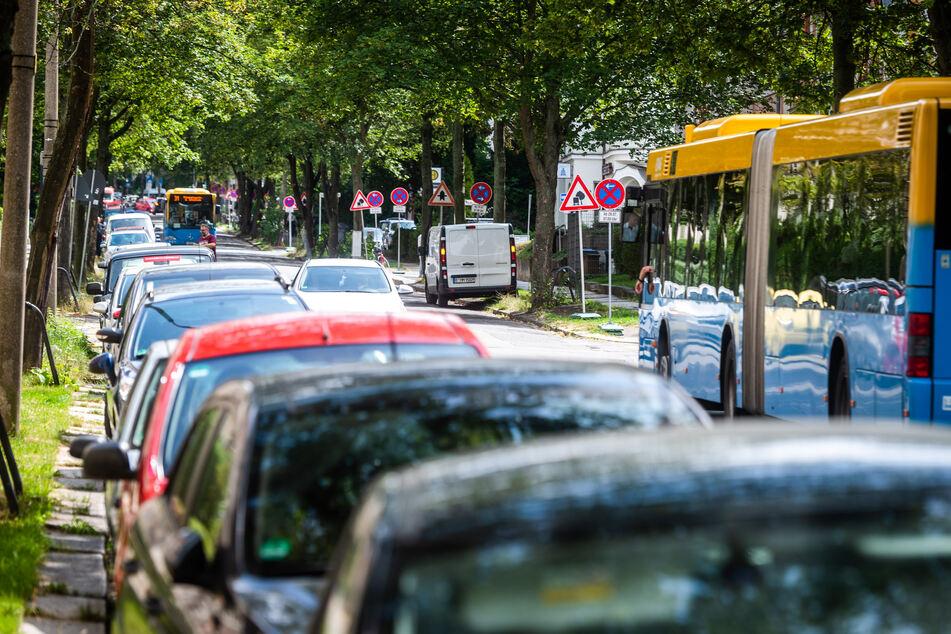 Bis November! Kaßberg-Baustelle verursacht Parkplatz-Kollaps