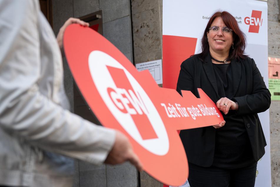 Monika Stein ist die Landesvorsitzende der Gewerkschaft Erziehung und Wissenschaft (GEW) in Baden-Württemberg.