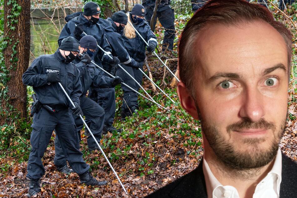 Jan Böhmermann musste sich als Kind im Wald vor der Polizei verstecken