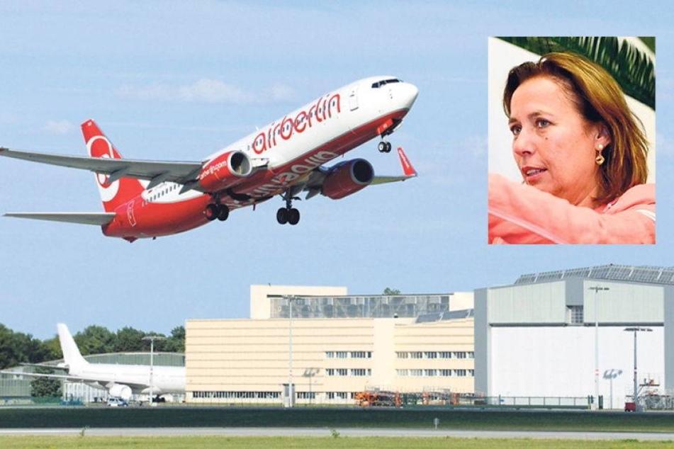 Dresdner Flughafen sucht Angsthasen