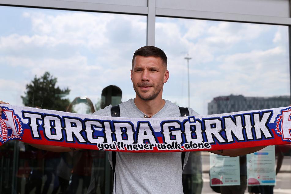 Lukas Podolski (38), ehemaliger deutscher Fußball-Nationalspieler.