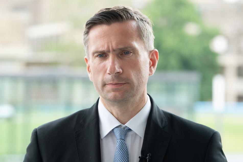 Martin Dulig (47, SPD), Wirtschaftsminister von Sachsen.