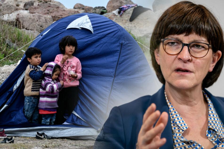 SPD fordert Aufnahme weiterer Flüchtlingskinder aus Griechenland