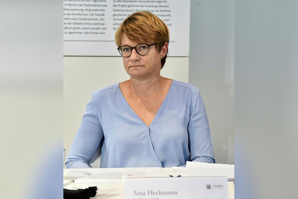 Anja Heckmann ist im Rathaus die Chefplanerin für die Innenstadt.